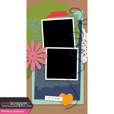 Travelers Notebook Layout Templates Kit #29 - Layout Template 29b