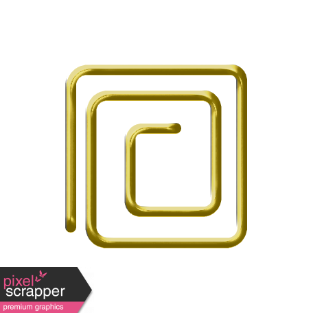 Here & Now Fastener Clip - Square
