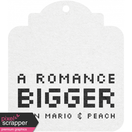Video Game Valentine Tag - Romance Bigger graphic by Marisa ...