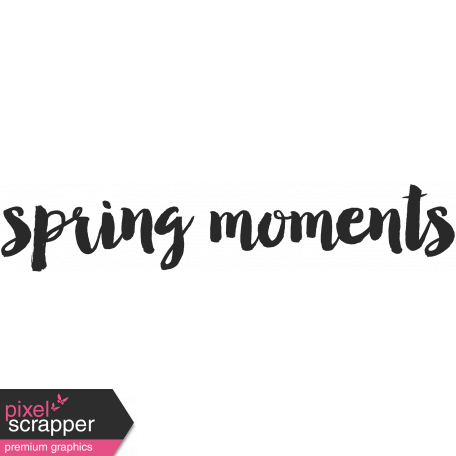 Easter Word Art Spring Moments