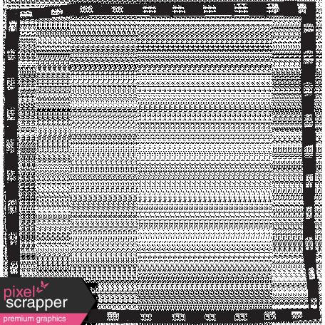 Doodle Frame 02 4x4 graphic by Marisa Lerin | Pixel Scrapper
