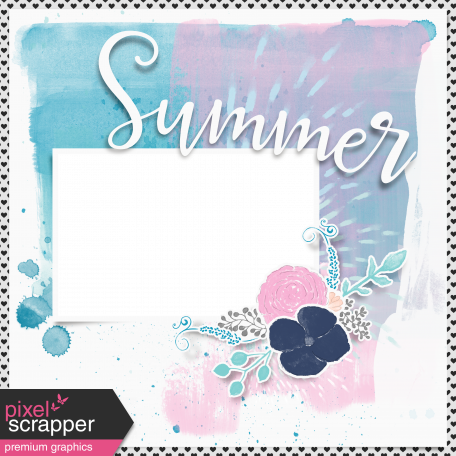Summer Day Layered Quick Page 1