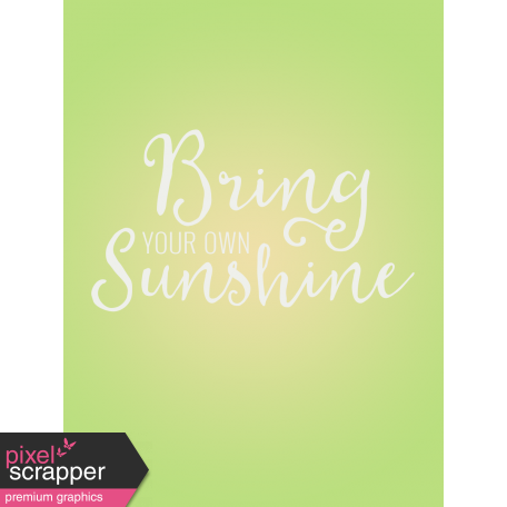 Nature Escape - Minikit- Journal Card - Sunshine 3x4