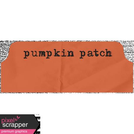 Pumpkin Spice - Minikit - Tab - Pumpkin Patch
