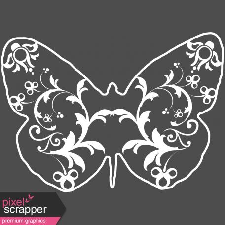 Butterflies - Butterfly 01 - Filigrain
