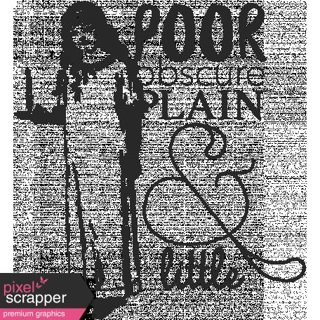Jane - Poor Obscure Plain Jane