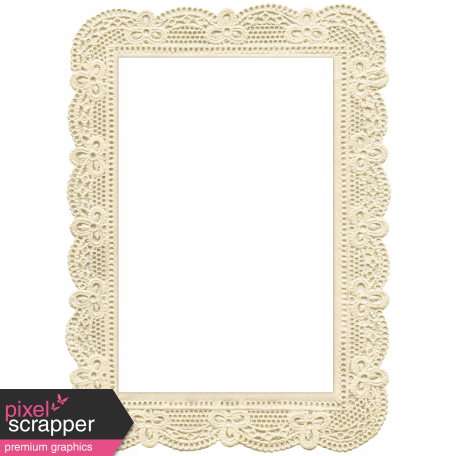 Jane - Frames - Lace Frame 1 graphic by Melo Vrijhof | Pixel ...