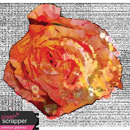 England - Flower Stamps - Rose