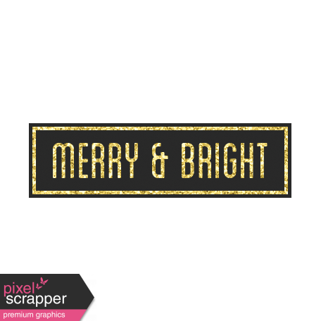 Christmas Day - Elements - Merry Bright