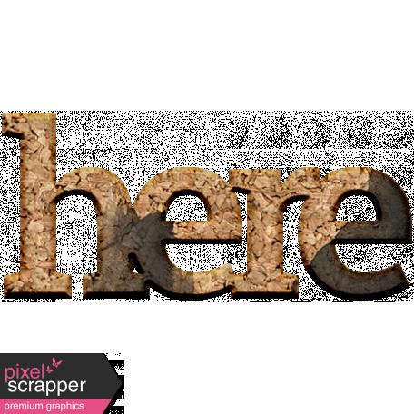 Back To Basics Cork Shapes - Shape 405