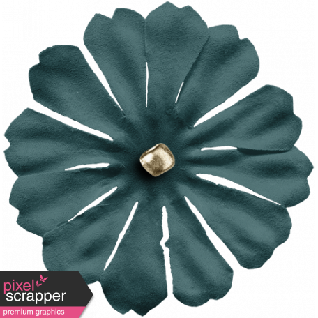 Cozy Day Elements - Green Flower
