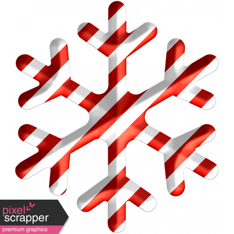 Light Strings & Candy Icons - Snowflake Pattern 1