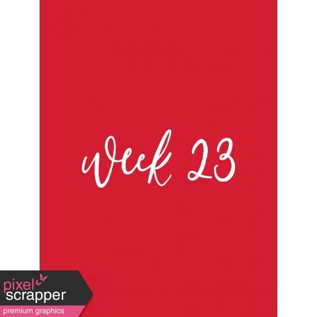 Back to Basics Week Pocket Card 01-045