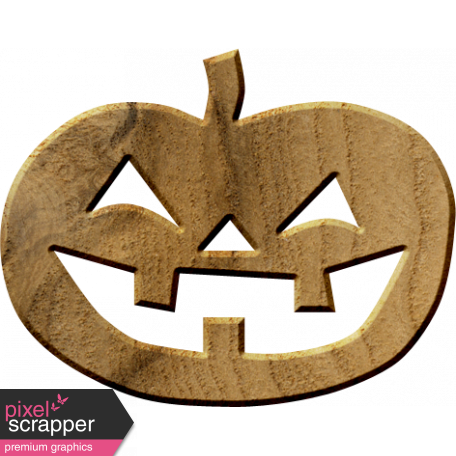 Bootiful Wood Pumpkin 02 Graphic By Elif şahin Pixel Scrapper