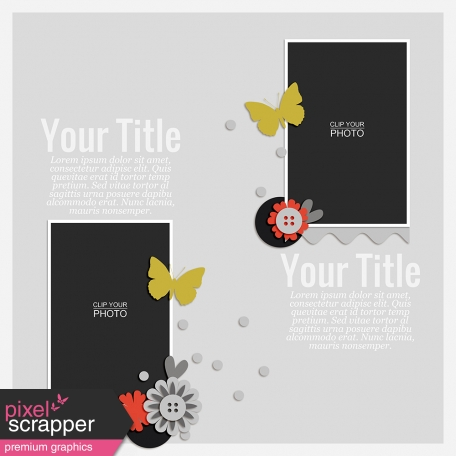 Rustic Charm - Layout Template 02