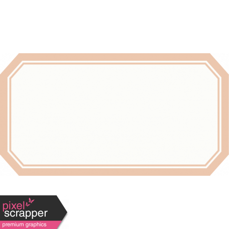 A Little Sparkle {Elements} - Pink And White Label