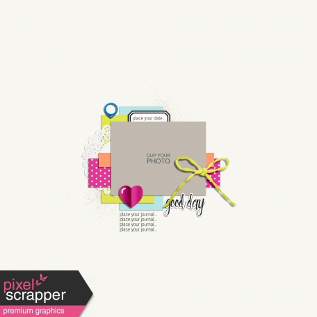 Good Day Layout Templates - Layout Template 2