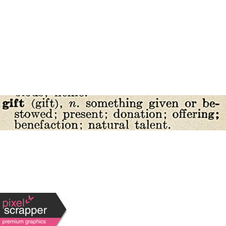 Christmas Day Elements - Gift Definition