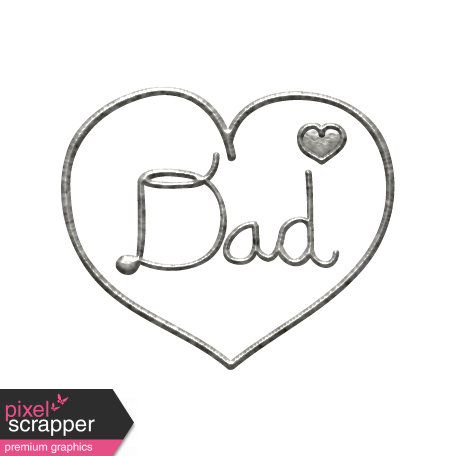 Toolbox Calendar - Metal Heart Dad Doodle