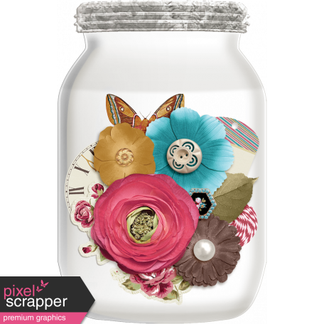 A Mother's Love - Flower Jar