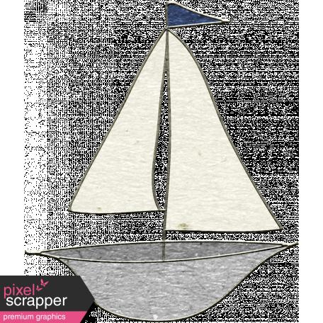 Summer Day - Boat Doodle