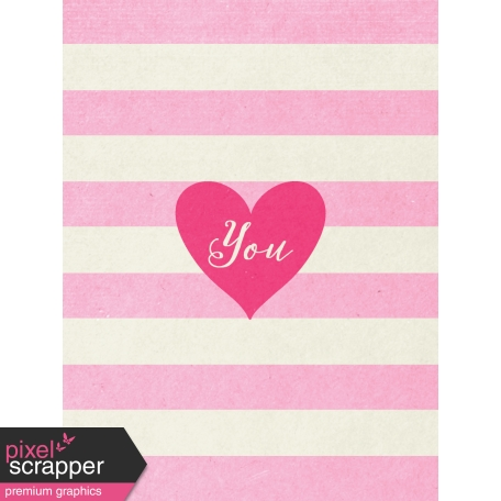 Toolbox Valentine's Kit 1 - 3x4 You Journal Card