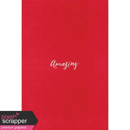 Toolbox Valentine's Kit 1 - 4x6 Amazing Journal Card