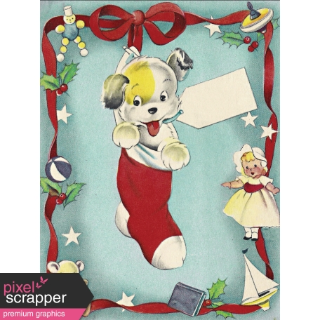 Memories & Traditions - 3x4 Puppy Journal Card