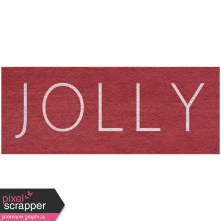 Winter Day - Jolly Word Art