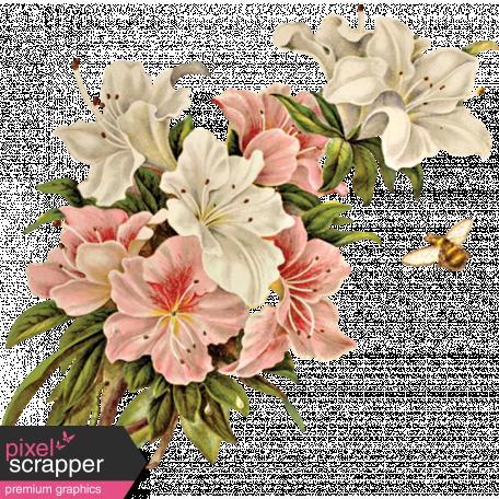 Spring Day Flower Ephemera Graphic By Janet Scott Pixel Scrapper