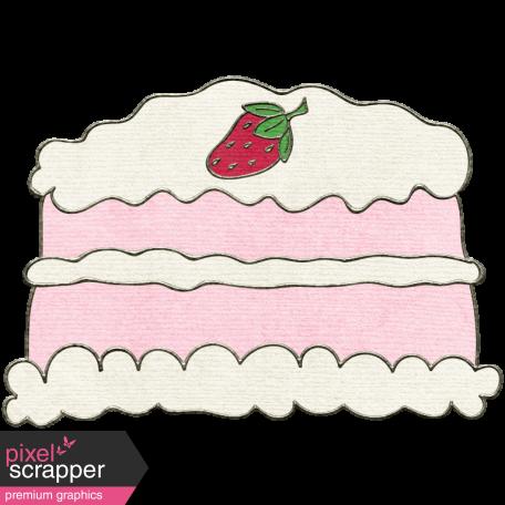 Happy Birthday Mini - Strawberry Cake