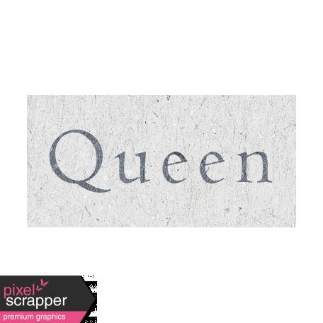 Digital Day - Queen Word Art