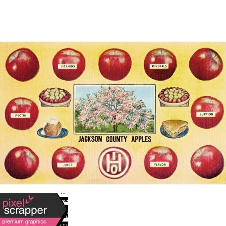 Apple Crisp - Postcard 02