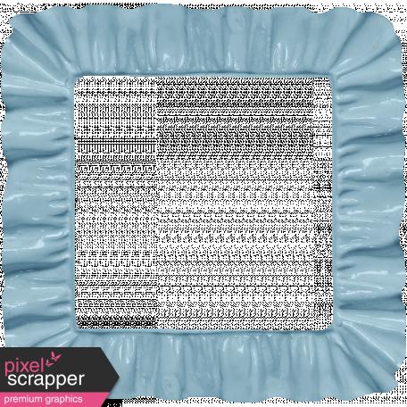 Apple Crisp Blue Plastic Frame Graphic By Janet Scott Pixel