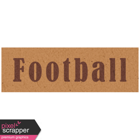 Day of Thanks - Football Word Art