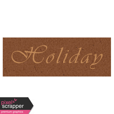 Day of Thanks - Holiday Word Art