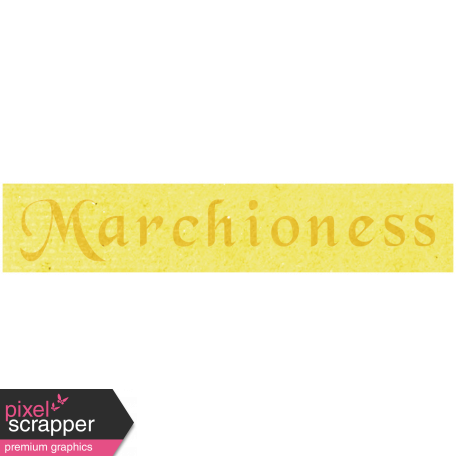 All the Princess - Marchiones Word Art