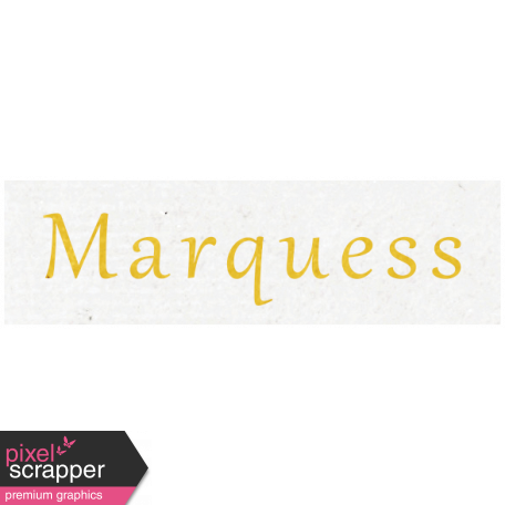 All the Princess - Marquess Word Art
