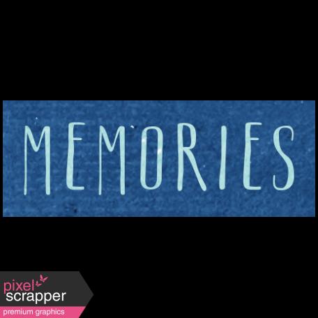 All the Princess - Memories Word Art