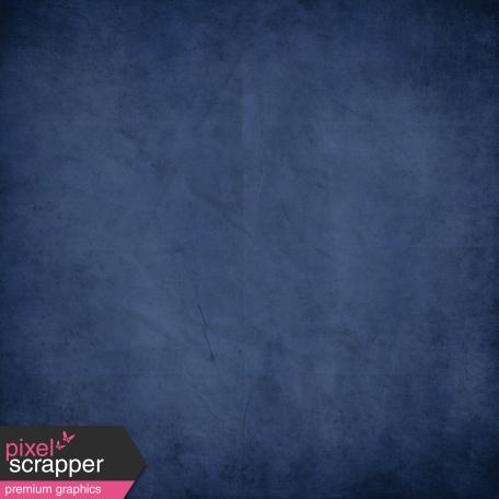 Chills & Thrills Dark Blue Solid Paper