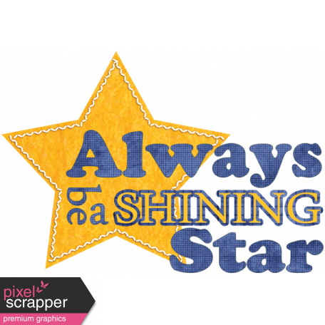 love notes shining star word art graphic by janet scott pixel
