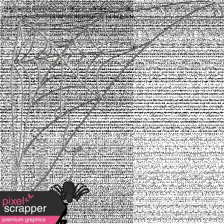 Chills & Thrills - Corner Web Doodle