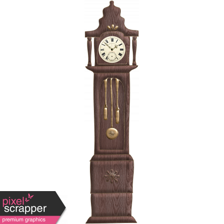 Nutcracker Doodle - Grandmother Clock