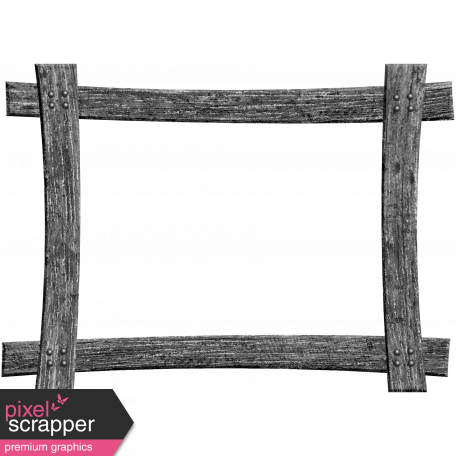 Wood Frame Template 017