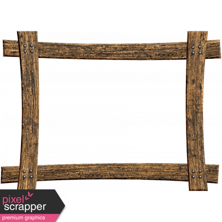 Woodland Winter - Rustic Frame