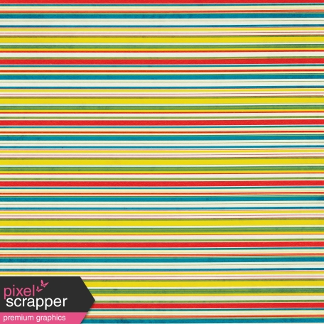Look, A Book! - Primary Color Striped Paper
