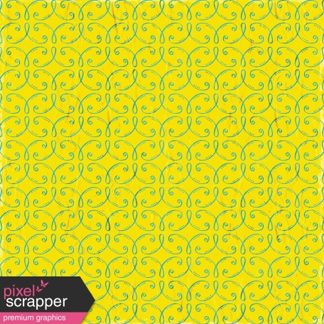 Reflections of Strength  Mini Kit - Yellow Ornamental Paper