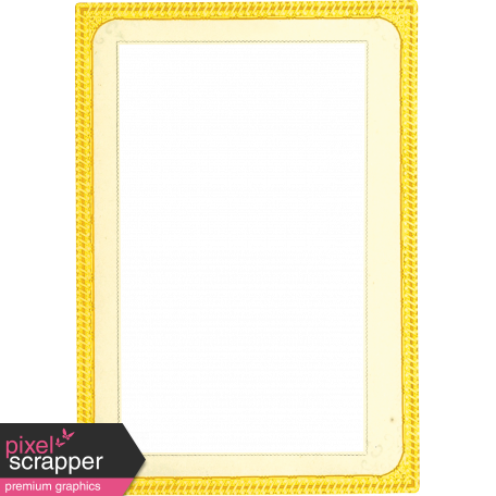 Reflections of Strength  Mini Kit - Yellow Paper Frame