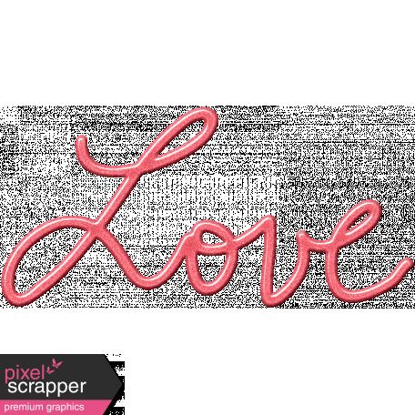 Heart Day Love Word Art