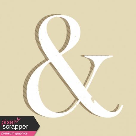 In the Pocket Journal Card [Filler Card] Ampersand - 2x2